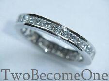 18 Carat White Gold Eternity Fine Diamond Rings