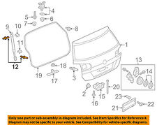 VW VOLKSWAGEN OEM 15-16 Golf Liftgate Tailgate Hatch-Ball Stud WHT007516