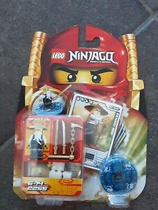 LEGO NINJAGO 2255 SENSEI WU SPINJITZU SPINNER-SET NEU OVP 2011 KREISEL FIGUR