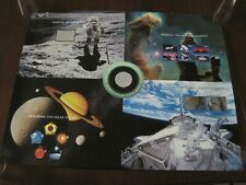 Expo 2000 World Stamp Space Achievement Hologram Press Sheet - Mint