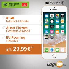Apple iPhone 6s Handy mit mobilcom 4GB Vertrag Allnet-Flat inkl. 29,99€ mtl.