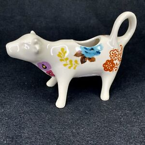 The Pioneer Woman Flea Market Floral Cow Creamer New