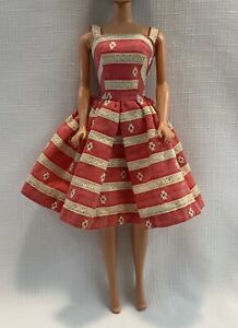 Vintage Doll Clothes BARBIE 1963 Busy Morning Dress #956