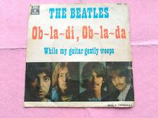 7'' SINGLE THE BEATLES - OB LA DI, OB LA DA - ODEON SPAIN 1969 G+/VG