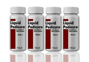 Liquid Pedicure Footbath (4 Pack) Ends Chronic Foot Odor And Itch. SEE VIDEO