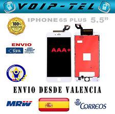 "PANTALLA COMPLETA LCD DISPLAY + TACTIL SCHERMO IPHONE 6S PLUS 5.5"" AAA+ BLANCO"