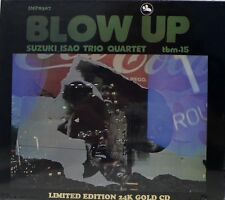 "ISAO SUZUKI QUARTET - TBM - IMPEX - IMP-8307 - ""BLOW UP"" - 24 KARAT GOLD CD"
