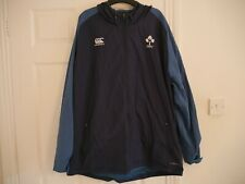 CANTERBURY MENS  IRFU IRELAND RUGBY VAPOSHIELD RAIN JACKET SIZE 2XL