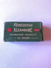 Remington High Speed .22 Empty Cartridge Ammo Box