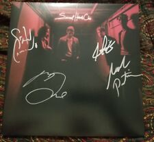 FOSTER THE PEOPLE signed auto SACRED HEARTS CLUB Vinyl LP MARK FOSTER +3