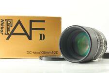 【NEAR MINT++ in BOX】 Nikon AF DC Nikkor 105mm f2 D Lens F Mount From Japan #850
