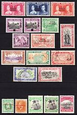 Cook & Penrhyn Is 1914-46 mint & used stamps, cv £35