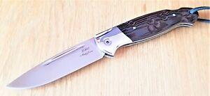 Nazarov Knives Russland Jagd Klappmesser ELMAX Сова rostfrei Handarbeit HRC62