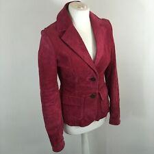 Montego Pink Suede Jacket 8