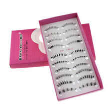 10 Pairs Handmade Natural Lower Under Bottom Fashion False Eyelashes Eye Lashes