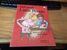 Decorative Tole Painting DeLane's Little People Patterns & Instructions