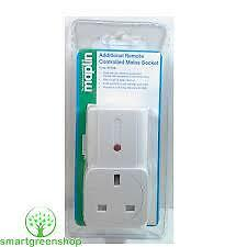 Maplin Standby Saving Wireless Socket + Remote Control Starter Pack N78KA