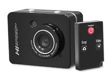 New Black PSCHD60BK Hi-Speed 1080P 12.0 Digital Action Camera Camcorder HD Video