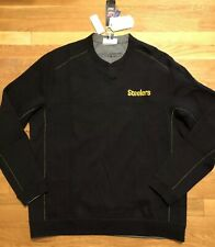Tommy Bahama Pittsburgh Steelers Mens Top Size Large Nwt Reversible