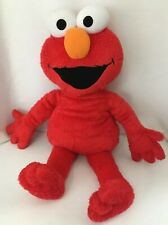 "Large 26"" Plush Elmo Pajama Pocket Keeper Big Red Cuddly Stuffed Toy"
