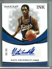 Nate Archibald 18/19 Panini Immaculate Collection Autograph #68/99