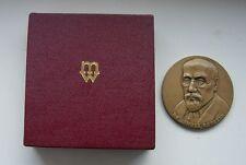 JEWS JEWISH KORCZAK TREBLINKA CONCENTRATION CAMP POLISH  POLAND medal RARE boxed