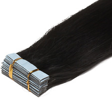 7A Seamless 16-26inch PU Skin Weft Tape in Remy Human Hair Extensions 30-70g