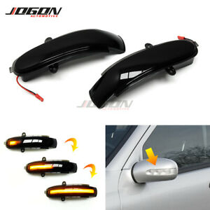 For Benz C Class W203 S203 CL203 2001-2007 LED Mirror Dynamic Turn Signal Light