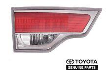 GENUINE TOYOTA HIGHLANDER 2014-2015 LEFT DRIVER'S INNER TAILGATE TAIL LIGHT