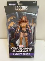 Hasbro Marvel Legends Angela Guardians Of The Galaxy Titus BAF Wave MISB