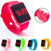 Waterproof Electronic Digital Kids/Child/Boy's/Girl's LED Display Watch Fashion