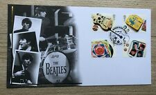 2007 The Beatles - Abbey Road, Guitar postmark - FDC