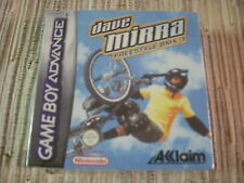 GAMEBOY ADVANCE/NINTENDO DS DAVE MIRRA FREESTYLE BMX 3 PAL ESPAÑA NUEVO
