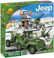 COBI - Small Army Willys MB Jeep Mountain Terrain 300 Piece Block Set #NEW