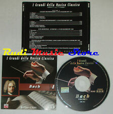 CD BACH I 2000 I GRANDI DELLA MUSICA CLASSICA heribert munchner kehr lp mc dvd