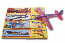 12 Flying Plane Gliders Polystyrene Pinata Toy Party Bag Fillers Wedding UK