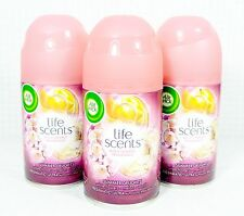 3 Air Wick FreshMatic Spray Refills SUMMER DELIGHTS - WHITE FLOWER MELON VANILLA