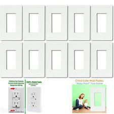 Wall Plates SI8831 Screwless DecoratorGFCI Wall Plate 1-Gang Standard New