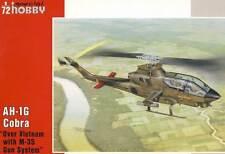 Specialhobby ah-1g cobra over vietnam m-35 Gun System 1:72 modelo-kit Kit
