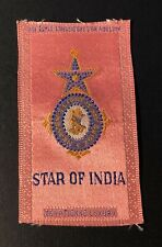 Vintage c1910 Star Of India Eqyptienne Luxury Factory #7 Cigarette Silk
