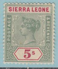 SIERRA LEONE 45  MINT  HINGED  OG *  NO FAULTS EXTRA FINE