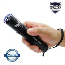 Police Force Tactical 9,200,000 Stun Flashlight With Lifetime Warranty - New