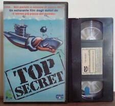 VHS FILM ITA Comico TOP SECRET val kilmer gutteridge ex nolo no dvd(VHS14)
