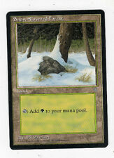 Snow-Covered Forest - Ice Age - 1995 - Magic the Gathering