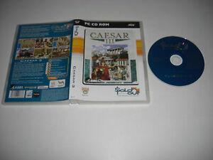 CAESAR III Pc Cd Rom SO CEASAR 3 - FAST POST