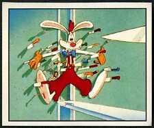 Who Framed Roger Rabbit #19 Panini 1988 Walt Disney Sticker (C939)