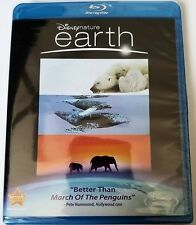 NEW DISNEYNATURE - EARTH BLU RAY + DVD 2 DISC SET FREE WORLDWIDE SHIPPING