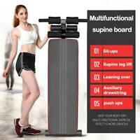 Adjustable Decline Sit up Bench Crunch Board Durable Fitness Home Gym Exercise !