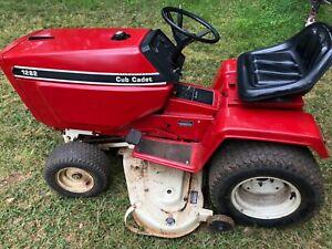 Cub Cadet 1282 A true collector's lawn and garden tractor