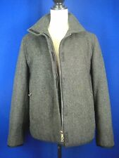 PRADA Italy Heather Gray Wool Sport Zip Jacket 10 (44)